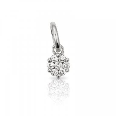 Colgante Tous Les Classiques en oro blanco y diamantes, precio 245€