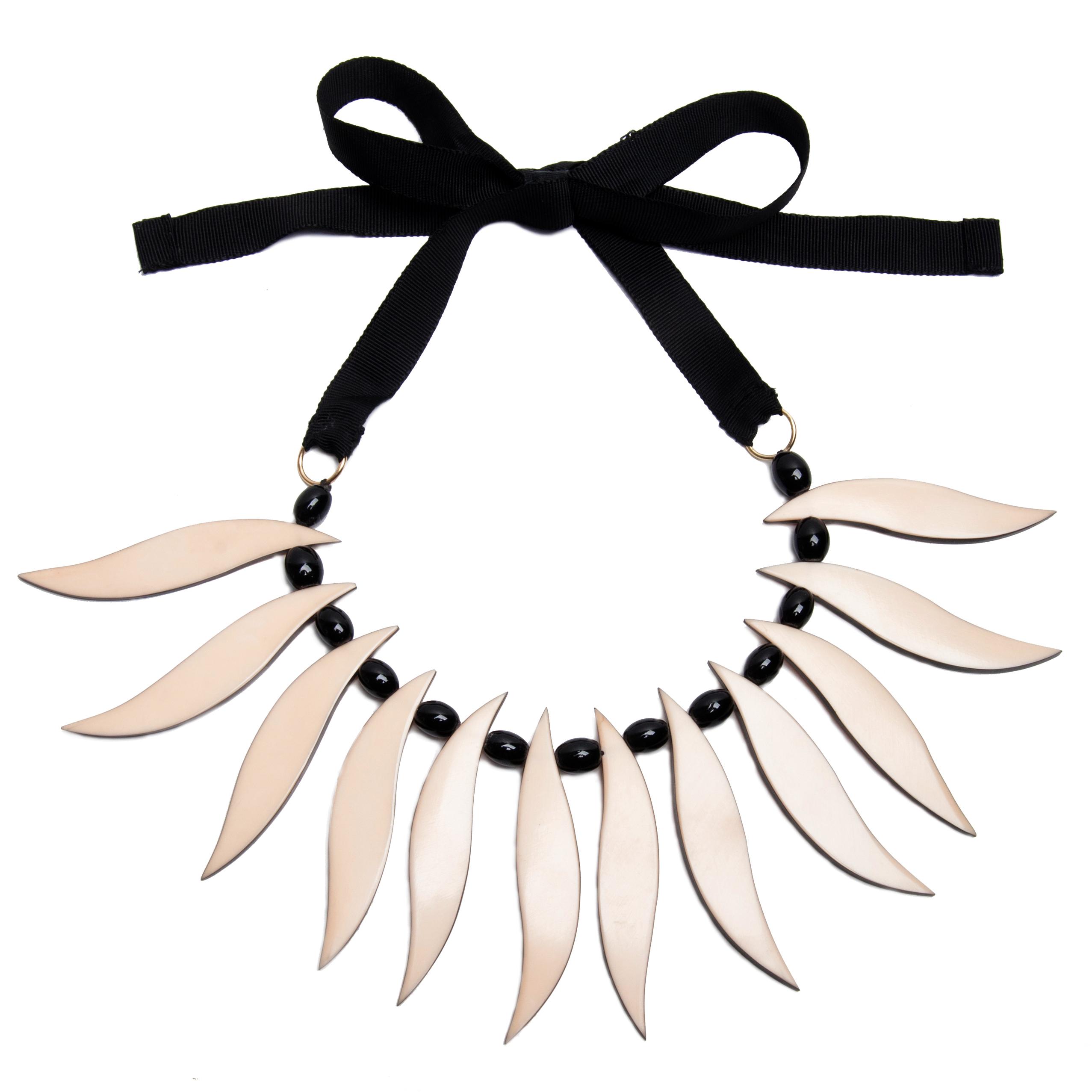 Collar BlancaNieves Papiroga colección P/V2015