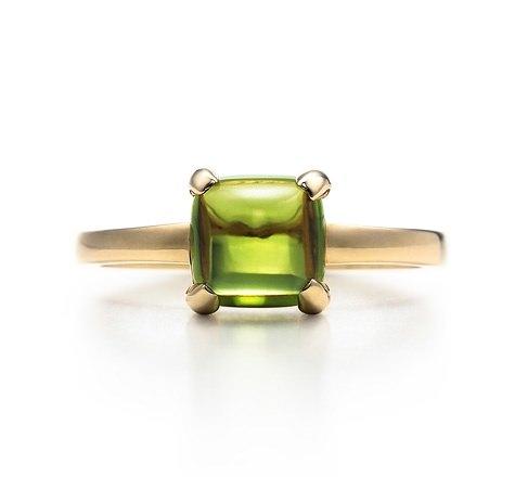 Anillo Paloma`s Sugar de Tiffany en oro y peridoto