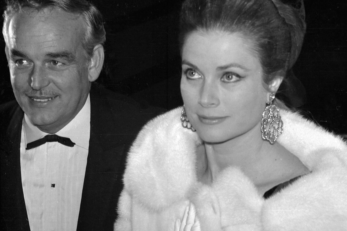 Grace Kelly y Rainiero de Mónaco