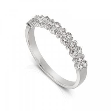 Anillo Fancy Tous en oro blanco y diamantes, precio 599€
