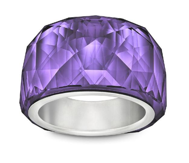 Anillo Nirvana Purple Velvet Petit, precio 129 €