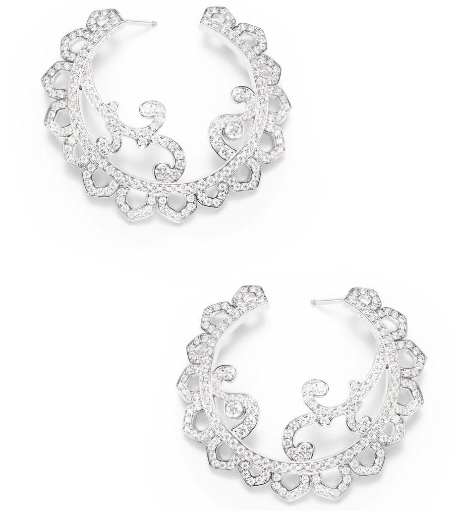 Pendientes Diamond Embrodery Inspiration