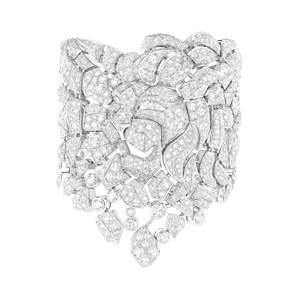 Brazalete Lion Mozaique de Cartier
