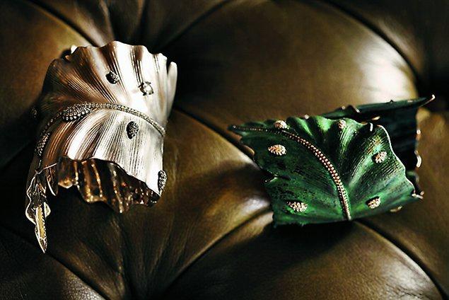 Brazaletes Luz Camino, joyas de la colección personal de Cristina Macaya