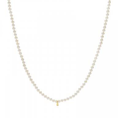 83ba9b907f35 Collar Tous largo con perlas cultivadas de 7mm en oro amarillo - precio de  95€