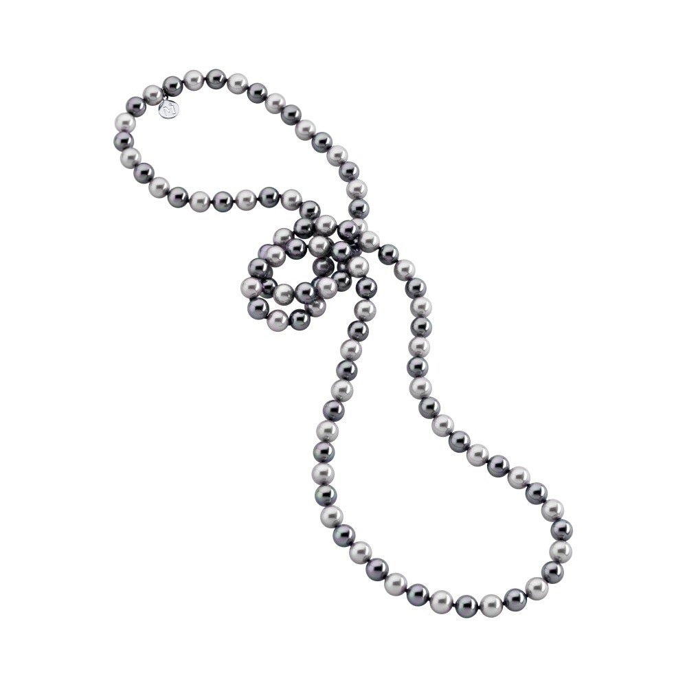 Collar Fancy largo de 95mm Majorica en perlas sintética