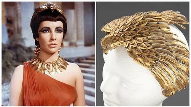 Joyas históricas de Elisabeth Taylor como Cleopatra en el cine