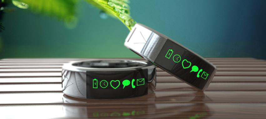 Smarty Ring en verde