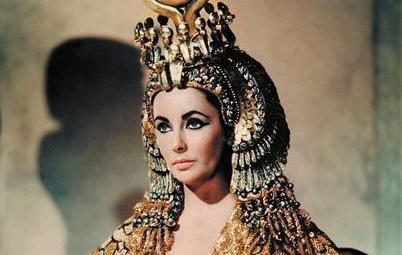 Las joyas de Elisabeth Taylor en la película Cleopatra