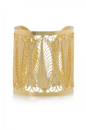 Brazalete Fanny de Mallarino en oro