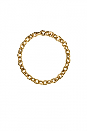 Collar Aristocrazy en plata con baño de oro amarillo