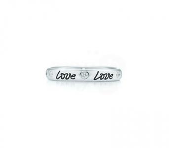 Anillo Love Band de Tiffany & Co