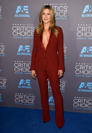 Jennifer Aniston luciendo body chains