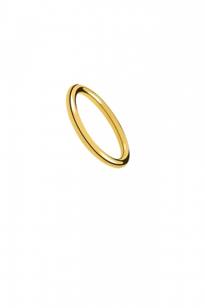 Anillo Alianza Aristocrazy en plata con baño de oro amarillo - 29€