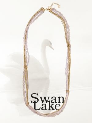 Collar perlado de Agatha Paris, Colección el Lago de los Cisnes