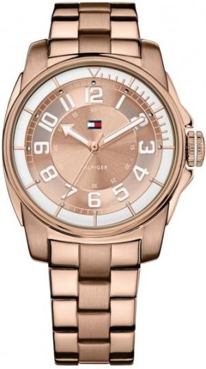 Reloj Tommy Hilfiger en oro rosa y acero