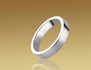 Alianza Marryme en platino de Bulgari