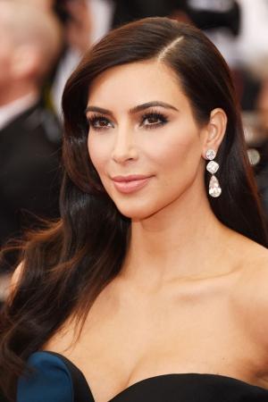 Kim Kardashian con joyas de Lorraine Schwartz