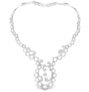 Collar Diamond Embrodery Inspiration