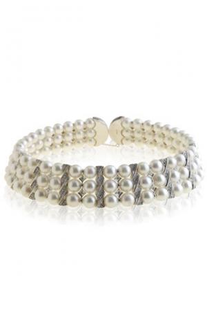 Collar Choker de Grassy con perlas australianas y diamantes en oro blanco - precio 10.000€