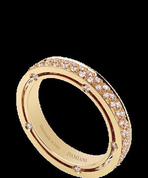 Anillo D.Side en oro amarillo con 0,83 quilates de diamantes