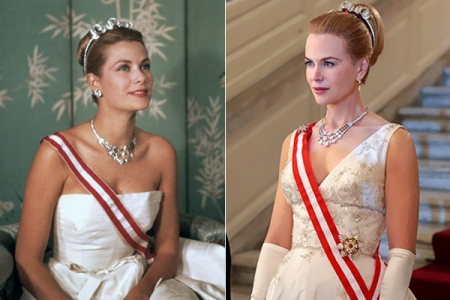 Nicole Kidman con joyas de Cartier para la película