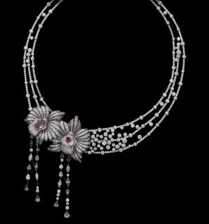 La Orquídea, flor aderezo de Cartier