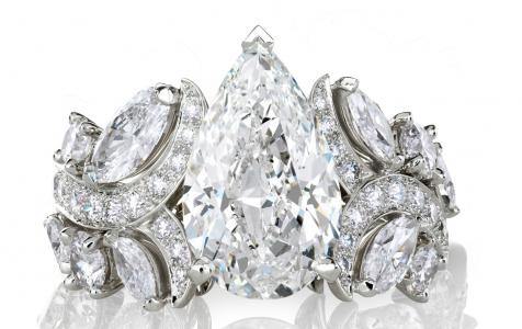 Anillo Adonis Rose De Beers en diamantes