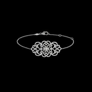 Pulsera de cadena Dentelle en oro y diamantes Djula - 4.395€