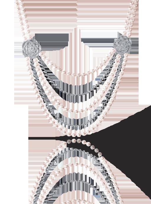 Collar Camèlia de Chanel en oro blanco de 18 quilates, con perlas cultivadas y diamantes - Precio bajo petición
