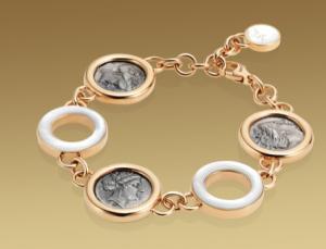 Catálogo de joyas Bulgari Brazalete-Monete-Bulgari-ororosa-18qts-madreperla-monedas-plata-antiguas
