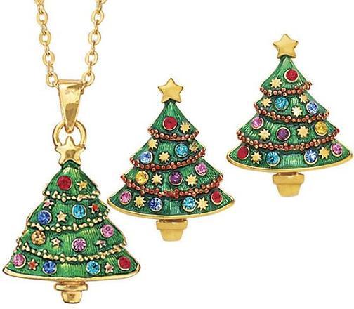 Abetos de Navidad que son joyas