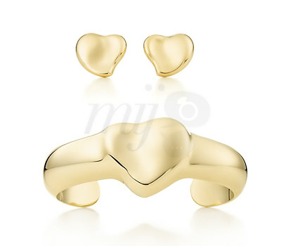 Conjunto Full Heart de Elsa Peretti para Tiffany & Co