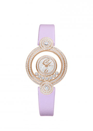 Reloj Happy Diamonds Icons de Chopard en oro rosa y diamantes