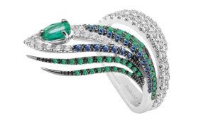 Anillo de oro y diamantes: ¿dónde encontrar diseños originales?