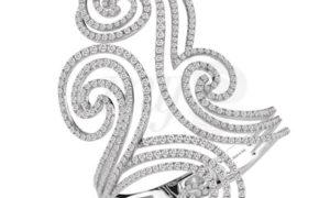 """El brazalete de diamantes """"Décor» de Damiani"""