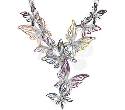 Collar Butterfly Pieza Maestra de Joyas Damiani