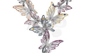 "El Collar ""Butterfly"" de Damiani"