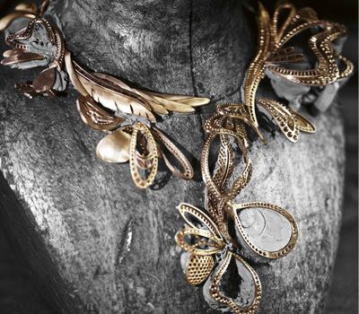 Collar Ramillete Alas de Boucheron Colección L'Artisan de Rêves