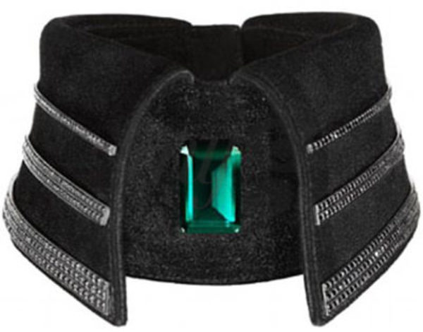El collar de Diamantes de Karl Lagerfeld