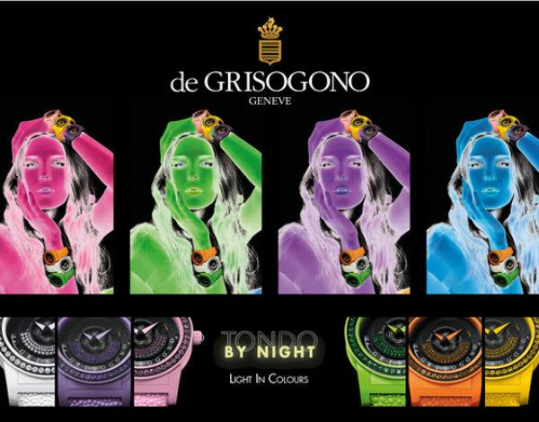 Tondo By Night DeGrisogono relojes flúor