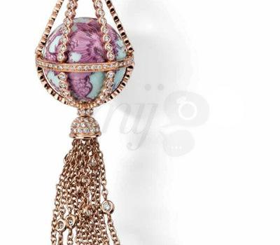 El Globo de Meissen Globo Porcelana y Diamantes de Joyería Meissen