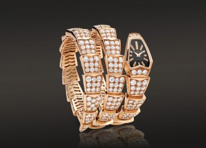 Reloj Serpenti Oro y Diamantes Bulgari