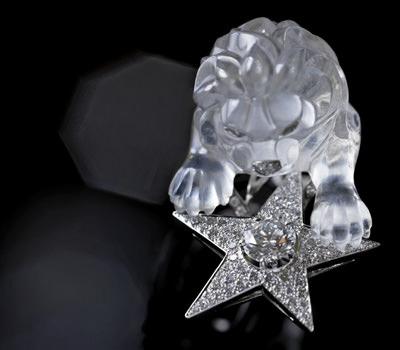 Anillo Leon Cristal 1932 de Joyas Chanel