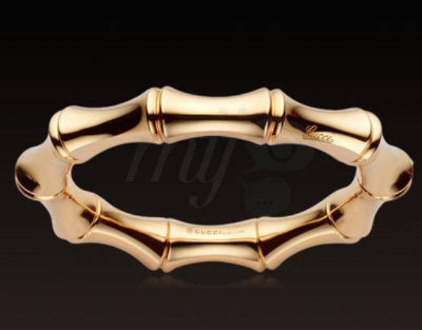 El brazalete Bamboo de Gucci