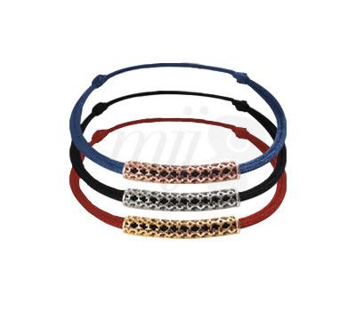 Brazaletes cordón Nueva colección Pure Alchimie del joyero Philippe Tournaire