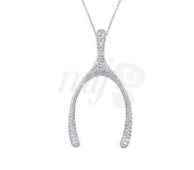 Colgante Hueso Deseos Wishbone Diamantes Louis Vuitton
