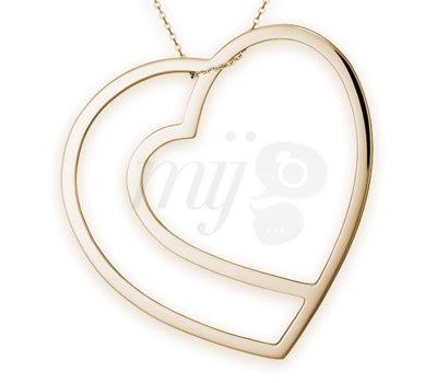 Collar Love, Love, Love de la firma de Joyas O'fée