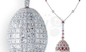 Les Fameux de Fabergé, Huevos de Alta Joyería
